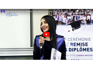 8ème cérémonie de remise de diplôme Licence Master