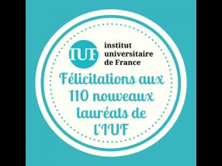 Khaled Hassouni lauréat de la promotion 2019 de l'IUF
