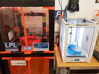 Production de visières au LPL grâce à la 3D